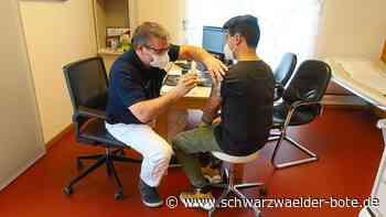 Massen-Impfung in Baiersbronn - Nachfrage der Gastro-Mitarbeiter ist groß - Schwarzwälder Bote