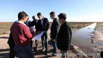Calvo inauguró obras hídricas para Tercero Arriba, Río Segundo y San Justo - diariosumario.com.ar