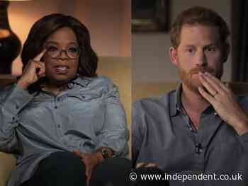 The Me You Can't See: Prince Harry and Oprah Winfrey share mental health stories in emotional trailer for new series