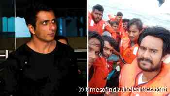 Sonu Sood seeks help for people stuck in Arabian Sea due to Cyclone Tauktae, requests Karnataka CM to 'mobilise the machinery'