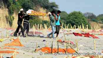 Corona-Pandemie: Grauen in Indien: Tausende Covid-19-Tote im Ganges angespült
