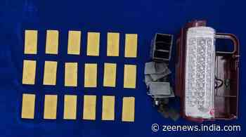 Chennai: Sharjah-returnee carries 18 gold plates worth Rs.1.18 crore in LED light, arrested