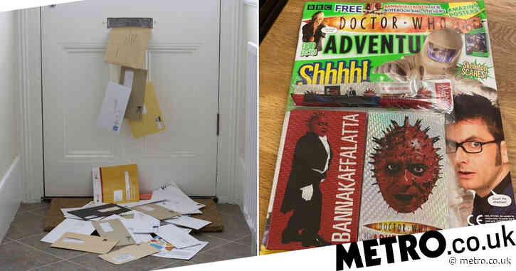 Mail from 2008 is finally delivered after it's found in dead postman's house