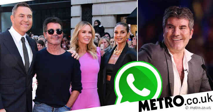 Simon Cowell snubs Britain's Got Talent WhatsApp group as judges bring in Ashley Banjo