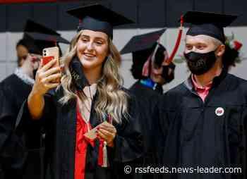 Photos from Drury University 2021 graduation