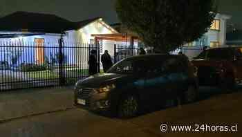 Robo a punta de pistola: Delincuentes ingresan a casa de Ñuñoa y golpean al dueño de casa - 24Horas.cl