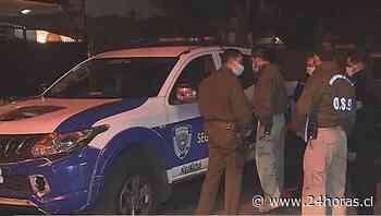 Violento portonazo en Ñuñoa termina en persecución y disparos contra patrulla de seguridad - 24Horas.cl