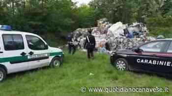 LOMBARDORE-LEINI - Camion scarica rifiuti in aperta campagna. Parte l'inchiesta: tredici persone arrestate - VIDEO - QC QuotidianoCanavese