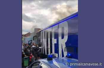 Assembramenti Inter ressa dei tifosi sabato a Leini - Prima il Canavese