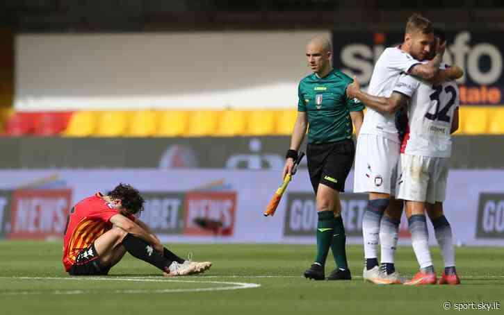 Benevento-Crotone 1-1: gol e highlights. Inzaghi beffato al 93' ma spera ancora - Sky Sport