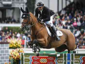 Canadian show jumper Eric Lamaze withdraws from Tokyo short list