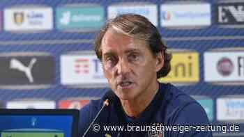 Laufzeit bis 2026: Italiens Nationalcoach Mancini verlängert Vertrag