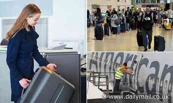 Airlines may start WEIGHING passengers at the gate, though surveys will be voluntary, confidential