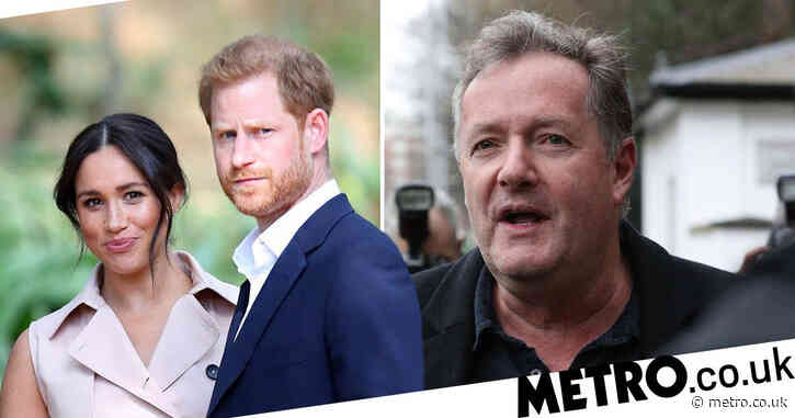 Piers Morgan brands Prince Harry 'spineless whiny cry baby' in scathing takedown following podcast