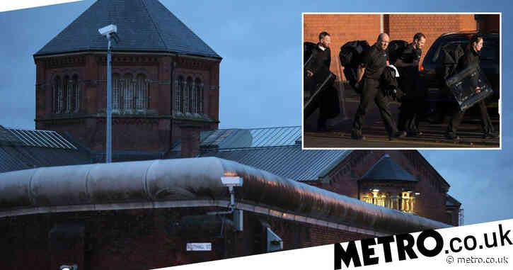 Hostage situations among 350 incidents handled by elite prison squad in a year