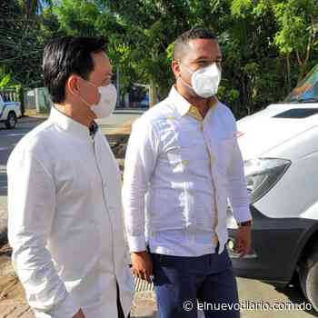 Embajador de china y Juan Ramón Gómez Díaz visitan al alcalde de Las Terrenas Eduardo Esteban - El Nuevo Diario (República Dominicana)