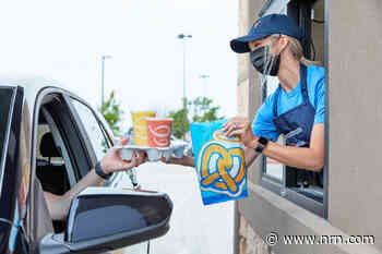 Focus Brands leans into cobranding with first Auntie Anne's drive-thru with Jamba