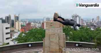 Denuncian penalmente a indígenas Misak por derribar estatua de Sebastián de Belalcázar - Vanguardia