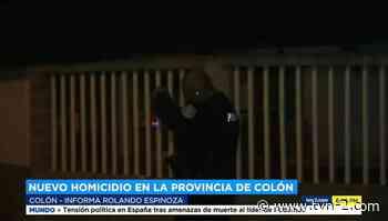 Se reporta nuevo caso de homicidio en Colón - Noticias - TVN Panamá