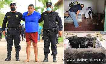 At least 10 bodies found inside three pits at the home of ex-cop arrested in El Salvador