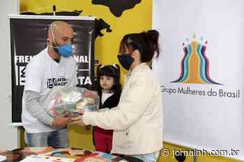 Mulheres imigrantes que moram em Esteio recebem cartão-alimentação e cesta básica - Jornal NH