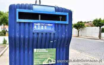 Aljustrel volta a sensibilizar para a correta deposição e separação de resíduos - Sul Informacao