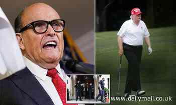 Rudy Giuliani says New York prosecutors are treating him like the 'head of a cartel or terrorist'