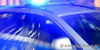 Zossen: Polizeieinsatz an einer Tankstelle - Märkische Allgemeine Zeitung
