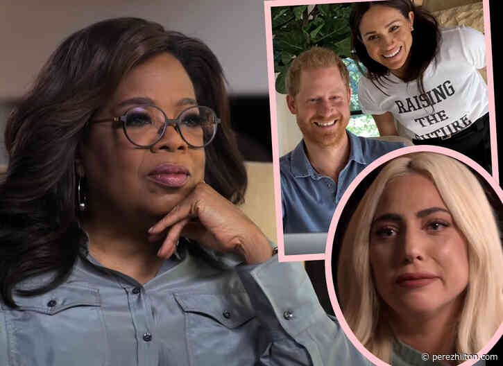 Meghan Markle & Lady GaGa Make Cameos In Prince Harry and Oprah's The Me You Can't See Trailer