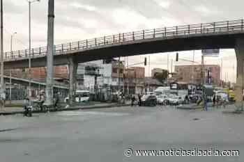 ¡Atención! Bloqueos en las vías de Soacha, Funza y Siberia - Noticias Día a Día