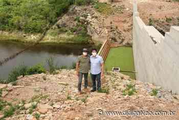Antonio Coelho visita obras hídricas em Santa Maria da Boa Vista - Blog do Didi Galvão