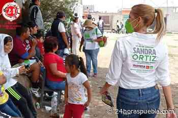 Lleva Sandra Ortiz sus propuetas a Rosas del Tepeyac, Miravalle y Barranca Honda - 24 Horas El Diario Sin Límites Puebla