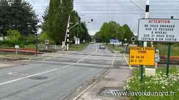 Saint-Laurent-Blangy : le passage à niveau fermé pendant six semaines! - La Voix du Nord
