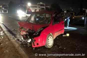 Acidente na BR-470 deixa seis feridos, em Pouso Redondo - Jornal de Pomerode