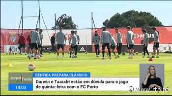 Benfica pode defrontar FC Porto com duas baixas - RTP