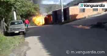 Video: Reportan un herido tras fuerte explosión en bodega de San Gil - Vanguardia