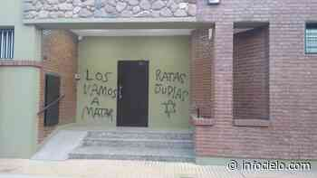 Bahía Blanca: pintada antisemita en la Asociación Israelita - Infocielo