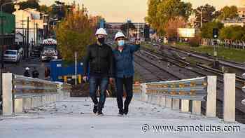 Merlo: Avanza la construcción del puente modular de San Antonio de Padua - SMnoticias