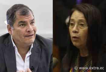 """Rafael Correa califica a Guadalupe Llori como """"elemental y extremadamente violenta"""" - Portal Extra"""