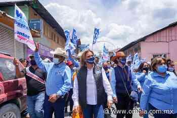 Recibe Maru Campos el respaldo de Guadalupe y Calvo - Omnia
