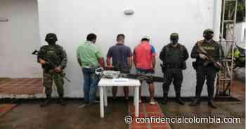 Capturados por talar árboles - Confidencial Colombia