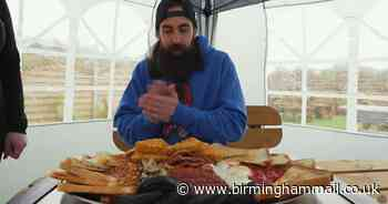 Youtube star Beard Meats Food defeats Solihull cafe's epic breakfast challenge - Birmingham Live