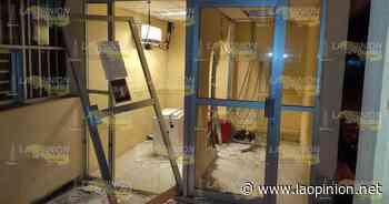 Se roban los dos cajeros de oficinas de Pemex en Cerro Azul Cerro Azul, Ver. - La Opinión