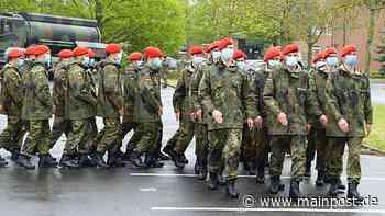 Volkach 70 Soldaten beim feierlichen Gelöbnis in Volkach - Main-Post
