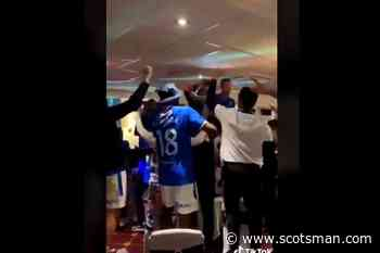 Rangers: Police Scotland investigate video that allegedly shows players and staff using 'sectarian language' during SPFL title celebrations - The Scotsman