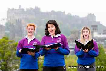 National Youth Choir of Scotland: Youngsters sing together for the first time in 14 months as coronavirus restrictions ease across the country - The Scotsman
