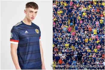 Scotland fans will have to shell out staggering £124 for new official Euros-branded kit... - The Scottish Sun