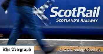 Sturgeon on collision course with unions over Scotland's railways - Telegraph.co.uk