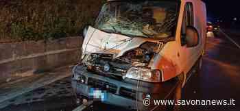 Villanova d'Albenga, incidente sull'Aurelia Bis: scontro auto-furgoncino con tre feriti (FOTO) - SavonaNews.it