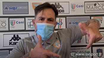"""Calcio, Albenga. Grandoni show: """"Questa è una squadra con i c..., giochiamo con il Ligorna, non con il Real Madrid o il Barcellona!"""" (VIDEO) - SvSport.it"""